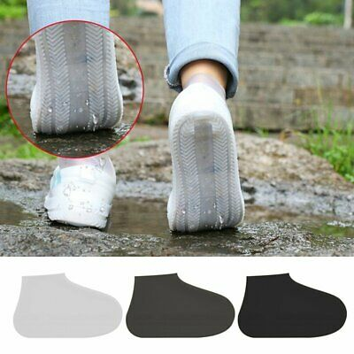 NEW Silicone Overshoes Rain Waterproof Shoe Covers Boot Cover Protector TN