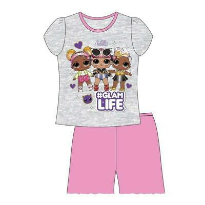 LOL Surprise Dolls Girls Short Pyjamas Nightwear casual Pj's  size 4-10 years