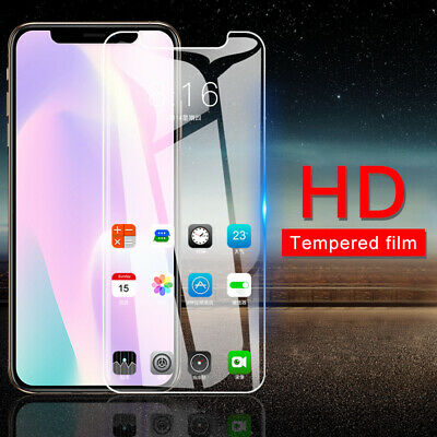 For iPhone 11/11 PRO MAX HD Tempered Glass Screen Protector Cover Film Skins UK