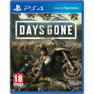 DAYS GONE PS4 Game - MInt Condition Sony Playstation 4