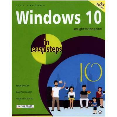 Windows 10 in Easy Steps by Nick Vandome (author)