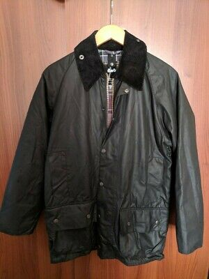 finest selection coupon codes factory outlet BARBOUR CLASSIC BEAUFORT Waxed Jacket in Black Men's Size 34 ...