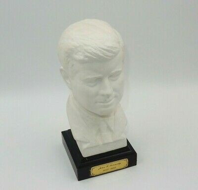 Vintage John F Kennedy Bust Sculpture Goebel W. Germany Signed Bochman