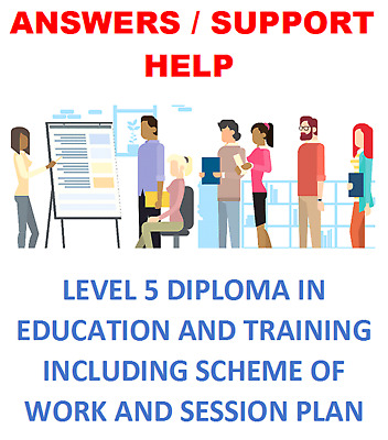 Level 5 Diploma in Education and Training answers/support & More