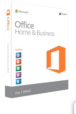 Genuine Microsoft Office 2019 For Mac Home & Business Fast