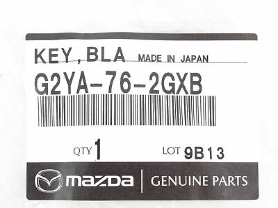 New OEM Mazda Primary Retractable Flip Transponder Key G2YA-76-2GXB 4D63 CRYPTO