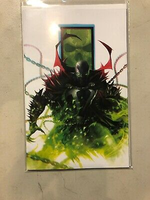 Spawn 301 2019  Francesco Mattina Virgin Variant Cover 1st Print Image VF/NM