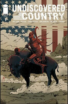 Undiscovered Country #1 One Stop Shop Exclusive Variant by Joseph Schmalke - Lim