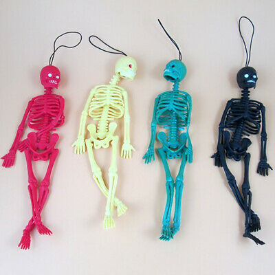 AG_ FR- Halloween Mini Lifelike Simulation Human Skeleton Decor Panic-striking O