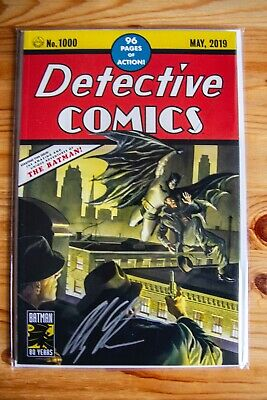 Detective Comics #1000, Alex Ross Cover Homage Variant, Signed LE 23/50