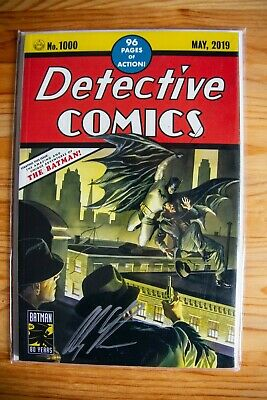 Detective Comics #1000, Alex Ross Cover Homage Variant, Signed LE 21/50