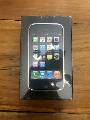 Factory Sealed Collectible Apple iPhone 3G - 16GB - Black (Unlocked) A1241 (GSM)
