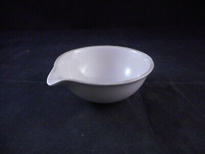 COORSTEK Porcelain 70mL Standard-Form Evaporating Dish 75mm OD 30mm Height 1/PK