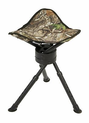 Terrific Banded Swivel Blind Chair Padded Seat Hunting Stool Realtree Theyellowbook Wood Chair Design Ideas Theyellowbookinfo