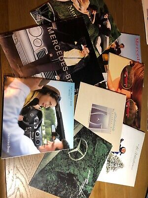 8 Mercedes-Benz Exclusive Gift, Clothing, Accessories Catalogs