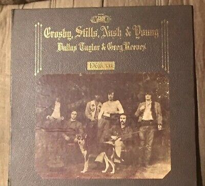 Crosby, Stills, Nash & Young~Deja Vu! 1970 Vinyl In Faux Leather Sleeve!!