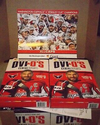 *LOT OF 2* Collector's Capitals Ovechkin Ovi O's (with FREE Stanley Cup Poster!)