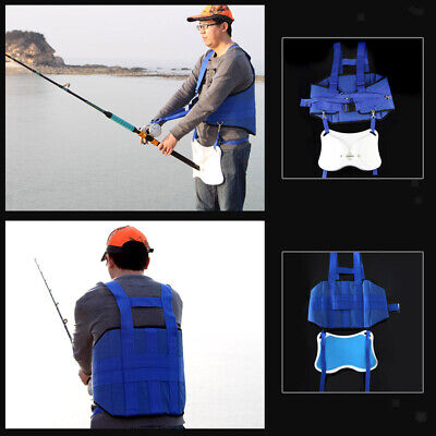 Stand Up Offshore Fishing Fighting Belt Rod Holder Espuma Acolchada Arnés