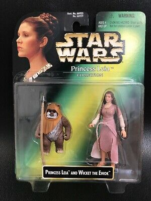 STAR WARS Princess Leia Collection Wicket The Ewok Action Figures