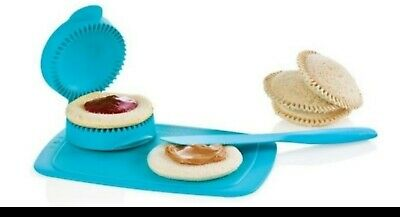 New!!!!!!Tupperware Spread,slice & Seal Set AQUA and light blue