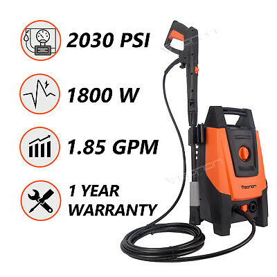 2030PSI 1.85GPM Electric High Power Pressure Washer Household Cleaner Machine US