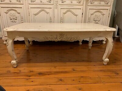 French Provincial Reproduction,Shabby Chic Coffee Table