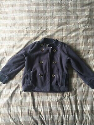 Boys Blue Age 2-3 Blue Fleecy Jacket