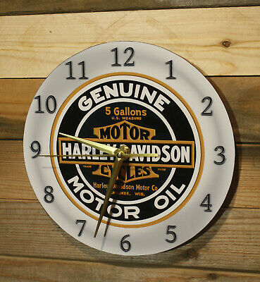 """Cadillac Service Dealer Replica Wall Clock Lg 9/"""" Round Silent Motor Sweep Hand"""