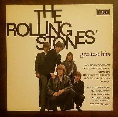 THE ROLLING STONES GREATEST HITS Dutch (Holland) 1st Press 1964 Decca EXC