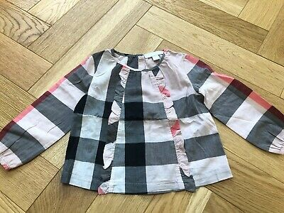 Baby Girl Burberry Top 18 Months