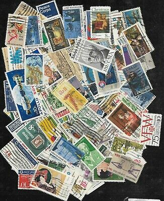 United States Postage Stamps Lot of 175+ used and off paper
