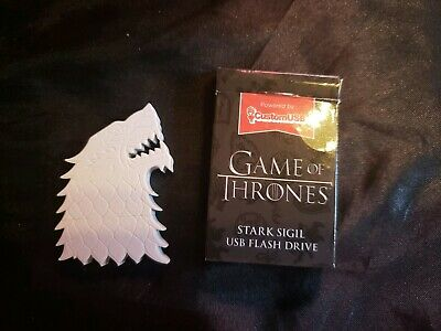 Game Of Thrones HBO House Stark Sigil 4gb USB Flash Drive Loot Crate