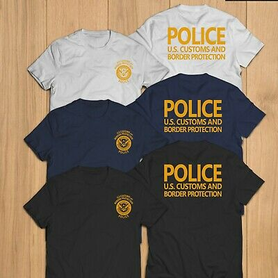 New Police US United States Customs And  Border Protection Security T-Shirt Tee