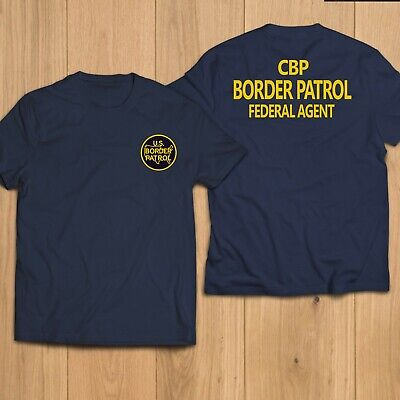 New Police US United States CBP Border Patrol Federal Agent Security T-Shirt Tee