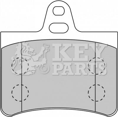 CITROEN C5 RC 3.0 Brake Pad Fitting Kit Rear 2004 on TRW Top Quality Replacement