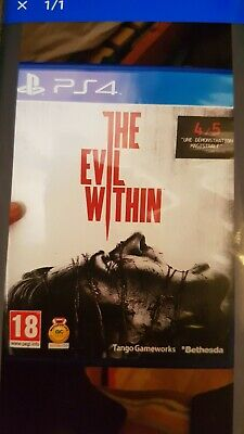 The Evil Within Neuf Sous Blister PS4