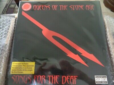 Queens Of The Stone Age Songs For The Deaf 2 Lp Europe Version!  2 Bonus Trax!!