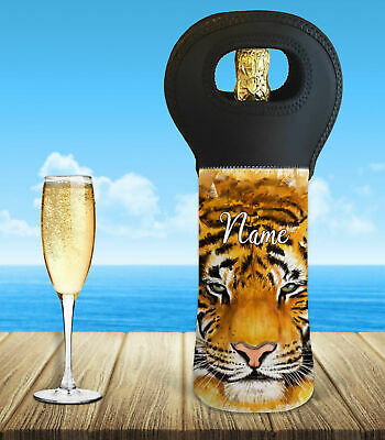 Personalised Tiger Wine Bottle Cooler Carry Bag