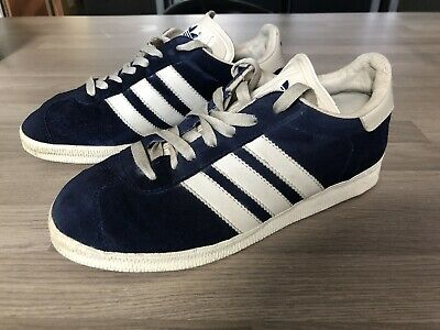 Adidas Gazelle Vintage Trainers 7 Uk / 40 2001