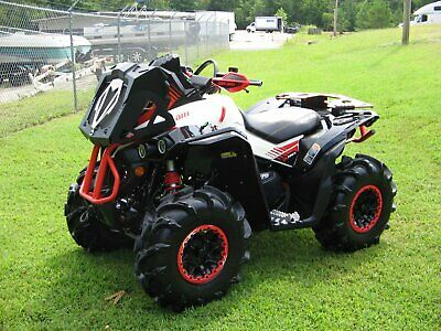 2018 Can-am RENEGADE XMR 570 V-TWIN EFI 4x4 W/POWER STEERING & ONLY *400* MILES!