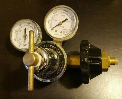 Western RS-2-4H Regulator (Brass, Single Stage, 0-4000 PSI)