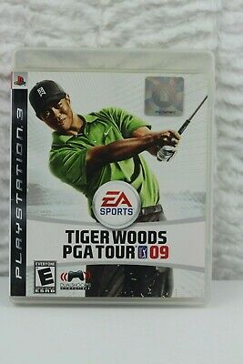 Tiger Woods PGA Tour 09 (Sony PlayStation 3 PS3, 2008)