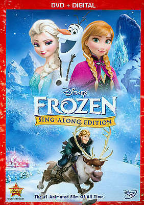 Frozen (DVD, 2014, Sing-Along Edition Includes Digital. (Brand New). S03