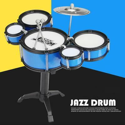 Mini Kids Jazz Drum Play Set for Musical Instruments Learning Educational Toys