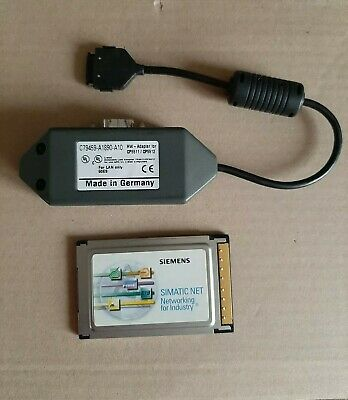 SIEMENS SIMATIC NET PROFIBUS 6GK1551-2AA00 CP 5512 + Adapter C79459-A1890-A10