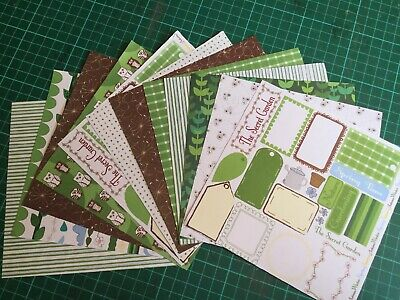 """MYTHO-LOGICAL 50 Sheets 6/""""x6/"""" Paper Pad Papermania//Docrafts Glittered"""