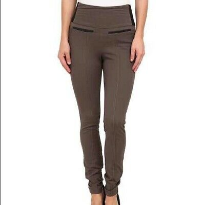 Spanx Ready to Wow Classic Twill Leggings 2578 - Brownstone UK Size Large 16-18