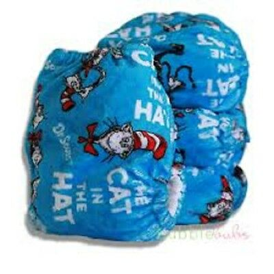 BN Bubblebubs Candies Cat in the Hat Cat Walk All In Two Reusable Nappy