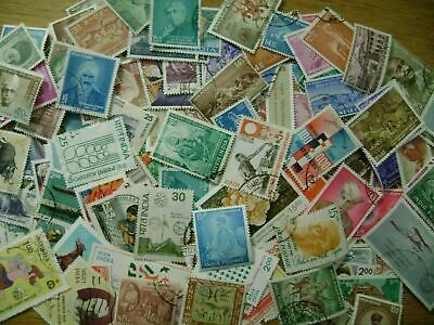 India - 150x different stamps - mainly used collection all 1948 and later