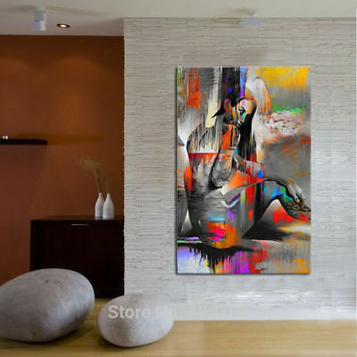 ZOPT219 100/% handpainted charmed abstract eye wall art OIL PAINTING ON CANVAS
